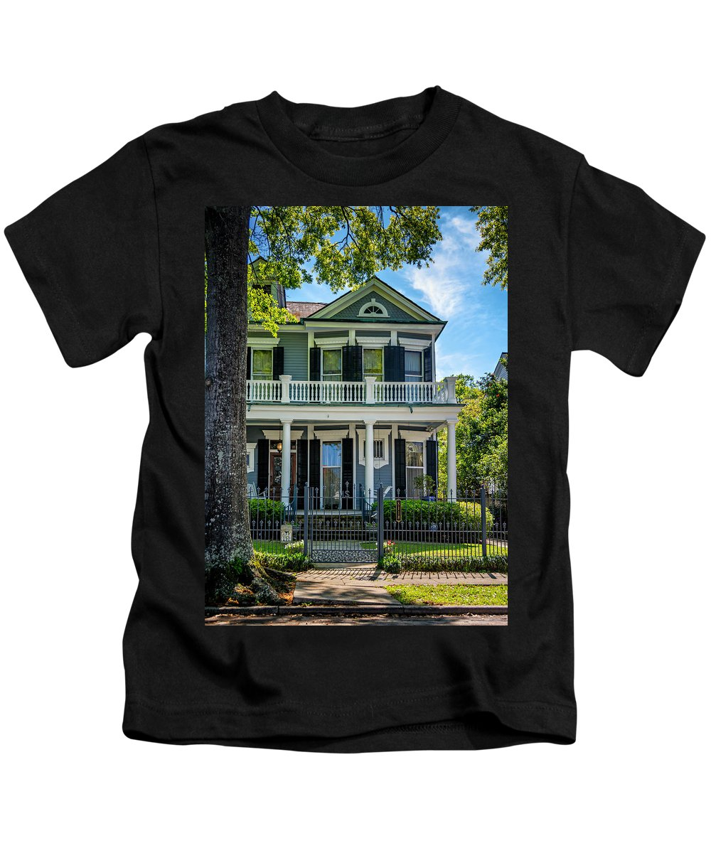 Home Kids T-Shirt featuring the photograph New Orleans Home 6 by Steve Harrington