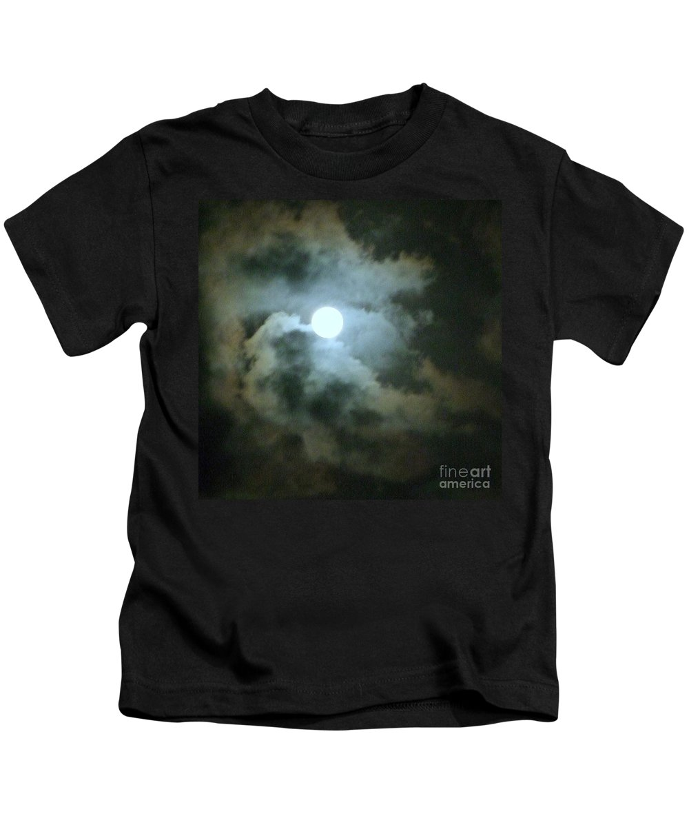 Moon Kids T-Shirt featuring the photograph Night Of The Moon by Mary Deal