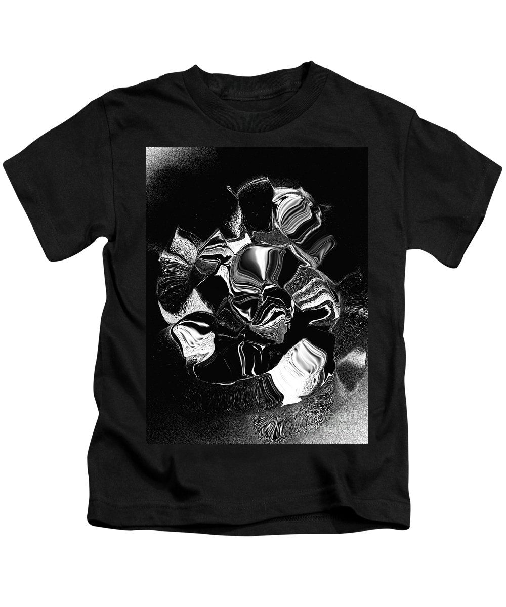 Kids T-Shirt featuring the digital art No. 1103 by John Grieder