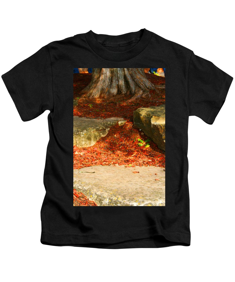 Tree Kids T-Shirt featuring the photograph Nome Land by Jamie Lynn