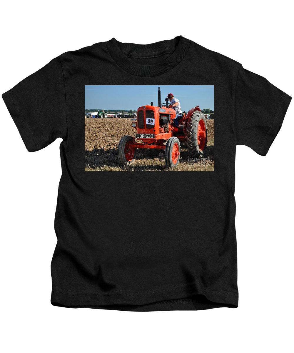 Nuffield Kids T-Shirt featuring the photograph Nuffield Universal by Rob Hawkins