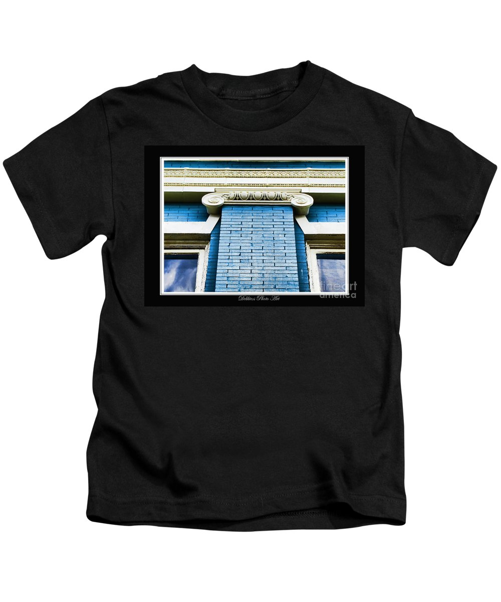 Arcitecture Kids T-Shirt featuring the photograph Old Elements I by Debbie Portwood
