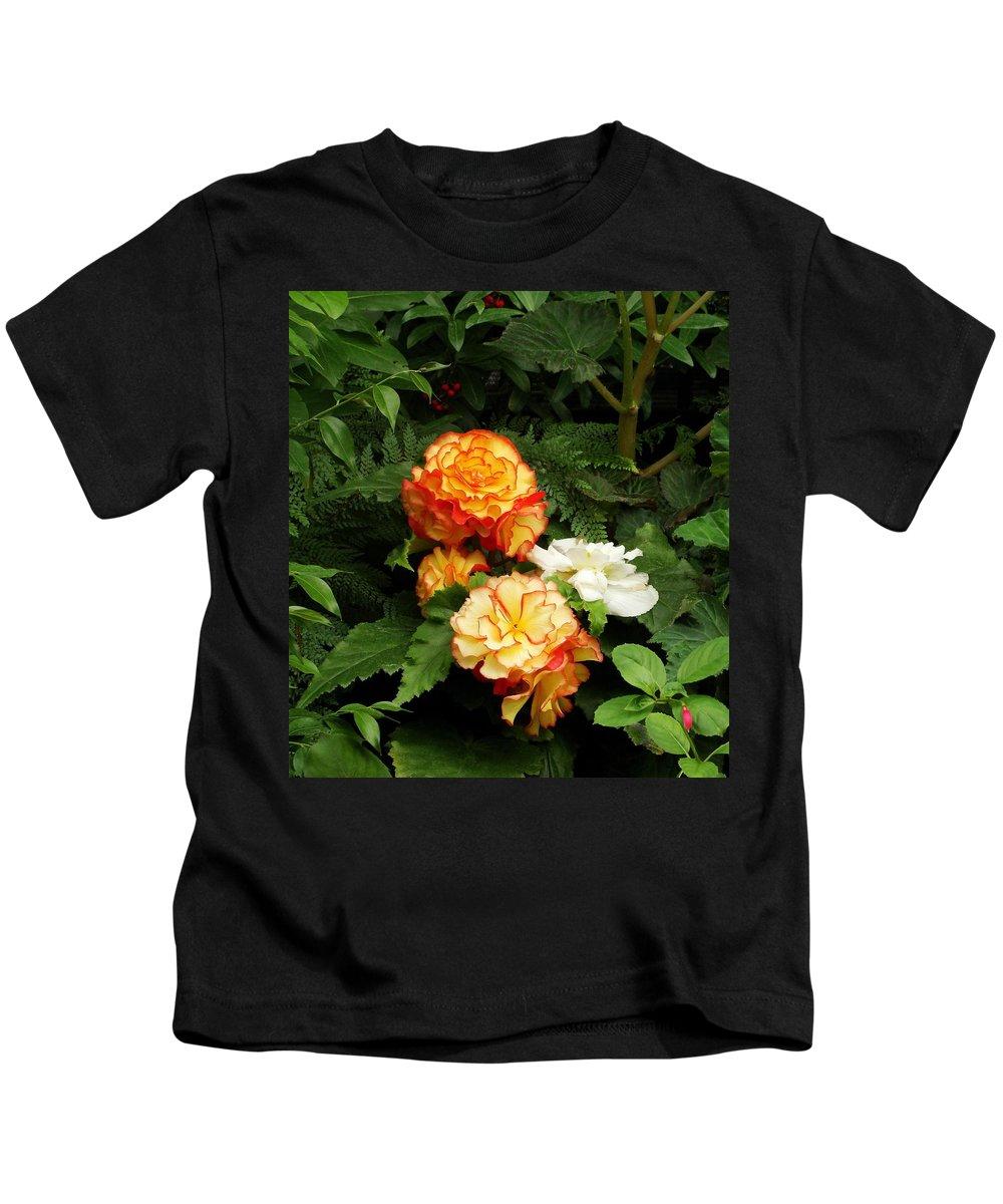 Orange Kids T-Shirt featuring the photograph Orange Trim by Natalie Ortiz