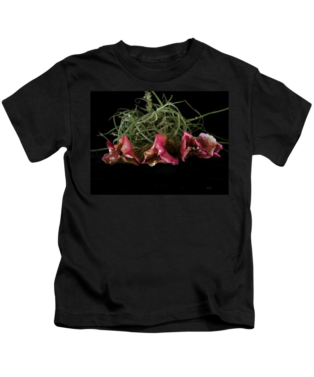 Art Kids T-Shirt featuring the photograph Organic Still Life 1 by Julianne Felton