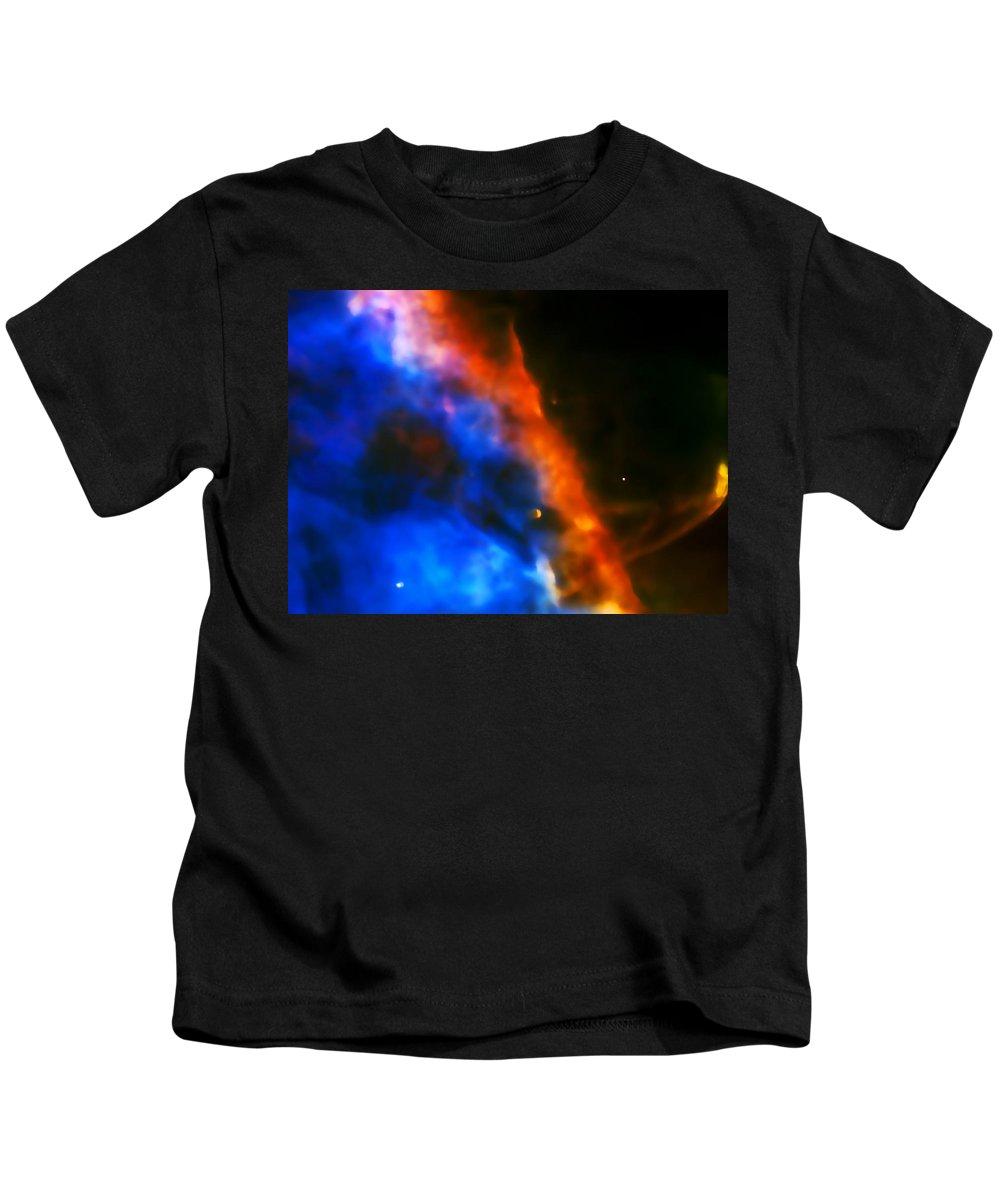 Nebula Kids T-Shirt featuring the photograph Orion Nebula Rim by Jennifer Rondinelli Reilly - Fine Art Photography