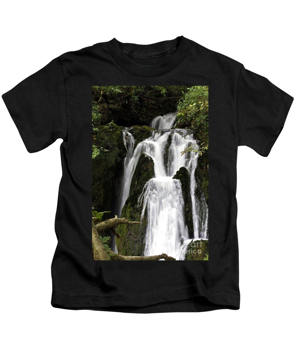 Rural Kids T-Shirt featuring the photograph Over The Edge by Ken Frischkorn