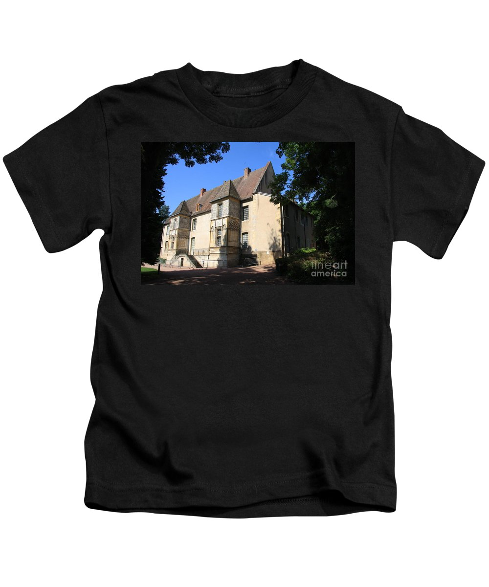 Palace Kids T-Shirt featuring the photograph Palace Of Abbot Jacques D'amboise by Christiane Schulze Art And Photography