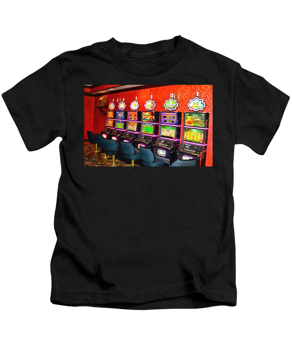 Barbara Snyder Kids T-Shirt featuring the painting Panda Power by Barbara Snyder