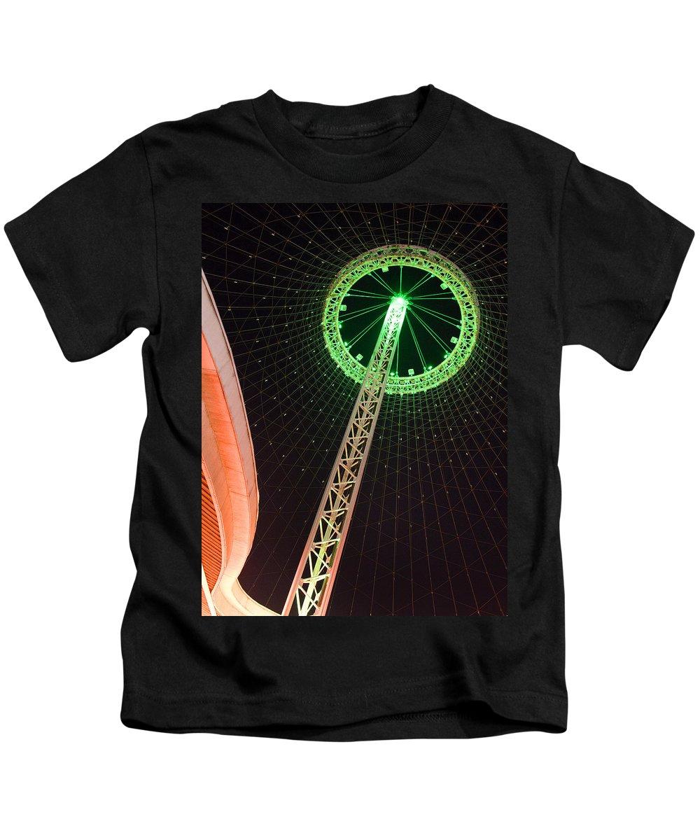 Pavilion Kids T-Shirt featuring the photograph Pavilion by Paul DeRocker