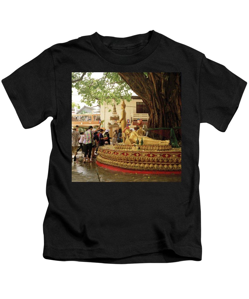 Asia Kids T-Shirt featuring the photograph Pbeemai by Shaun Higson