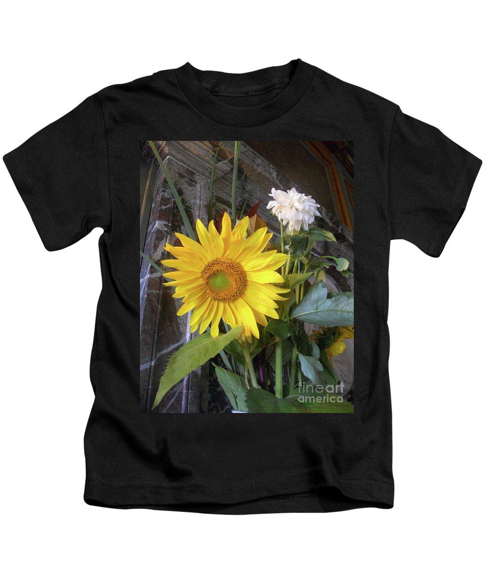 Abstract Kids T-Shirt featuring the photograph Peek A Boo by Lauren Leigh Hunter Fine Art Photography