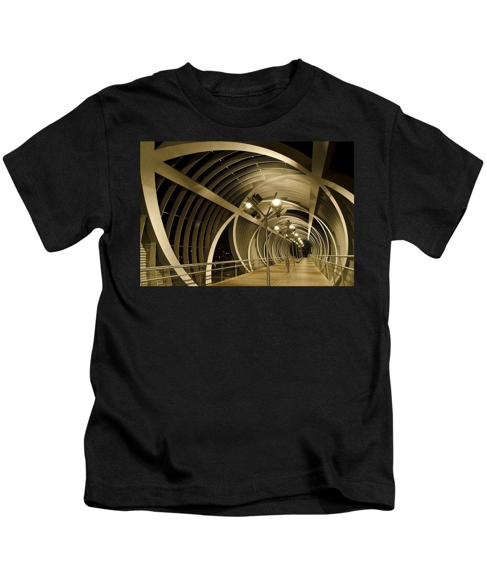 Perrault Kids T-Shirt featuring the photograph Perrault Bridge by Pablo Lopez