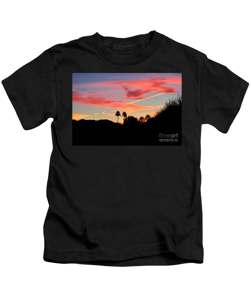 Pink Kids T-Shirt featuring the photograph Pink And Gold by Jay Milo