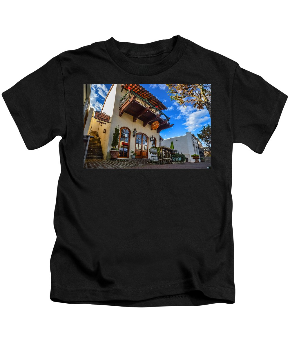 Palm Kids T-Shirt featuring the digital art Pinzones by Michael Thomas
