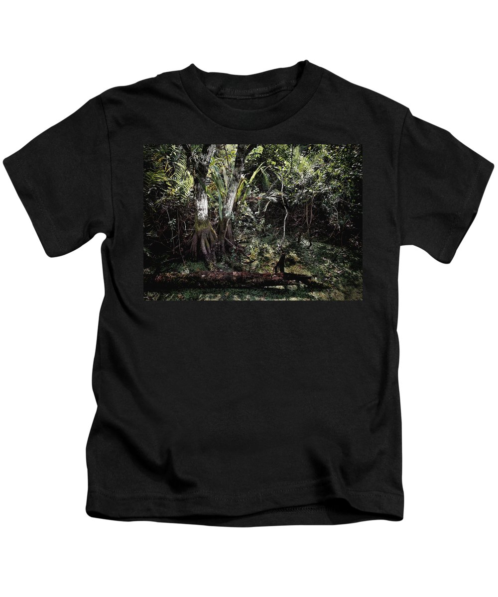 Arthur R. Marshall Kids T-Shirt featuring the photograph Pond Apple-1 by Rudy Umans