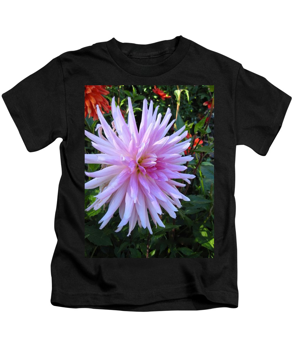 Flowers Kids T-Shirt featuring the photograph Pretty In Pink by Csilla Florida