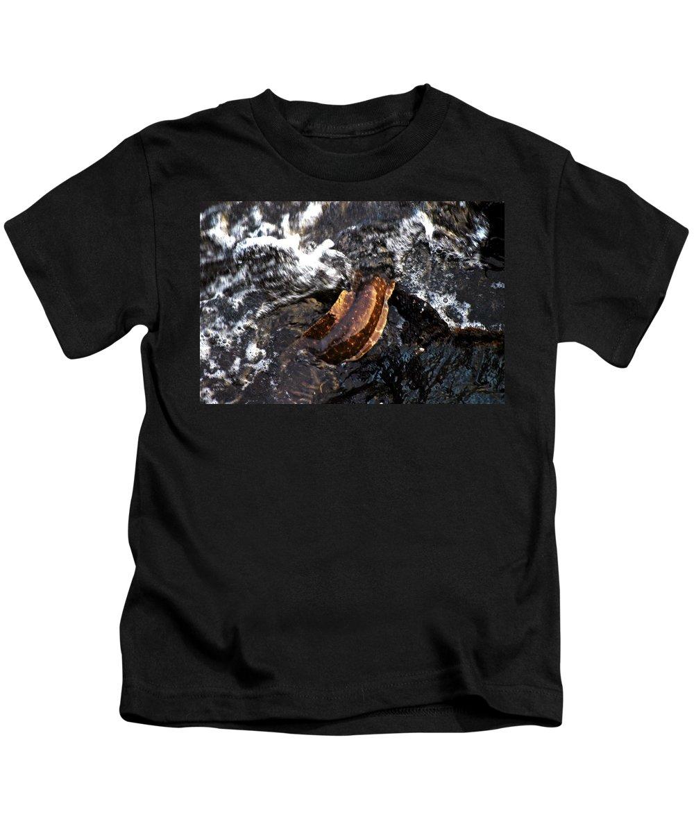 Hawaii Kids T-Shirt featuring the photograph Puhi'ula The Giant Red Eel by Lehua Pekelo-Stearns