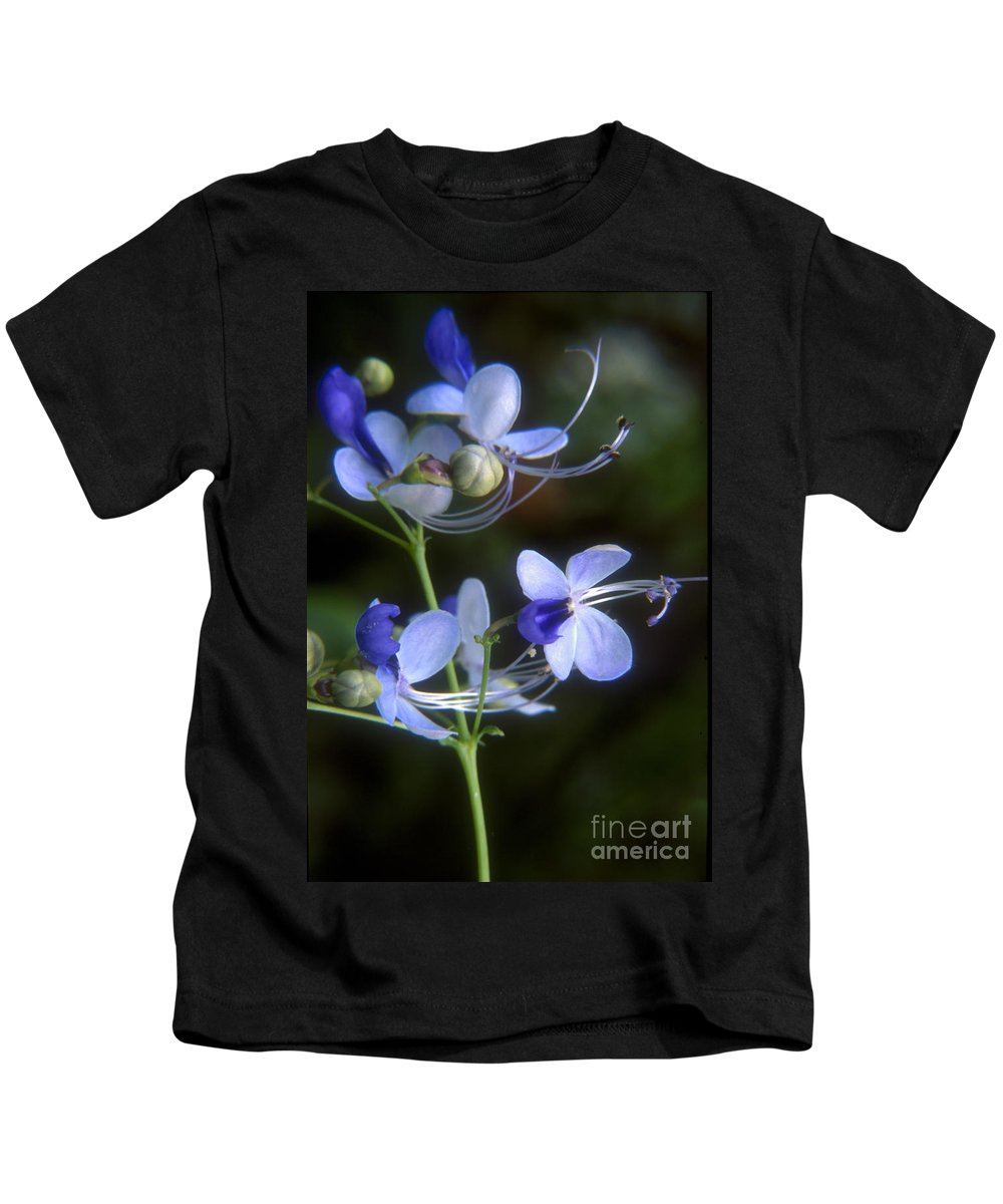 Purple Kids T-Shirt featuring the photograph Purple by Darleen Stry