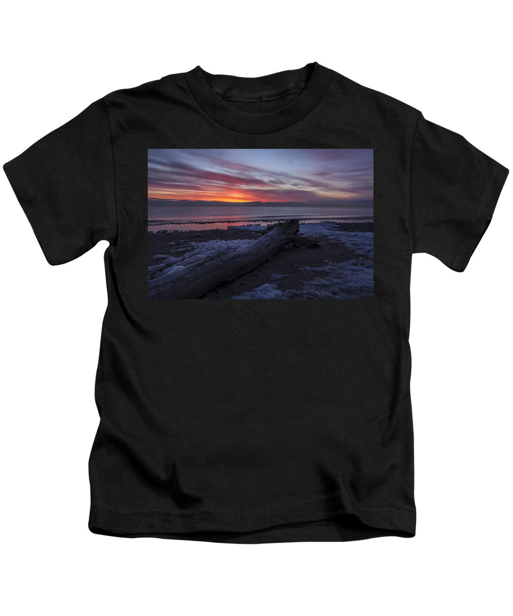 Www.cjschmit.com Kids T-Shirt featuring the photograph Radiant Rise by CJ Schmit