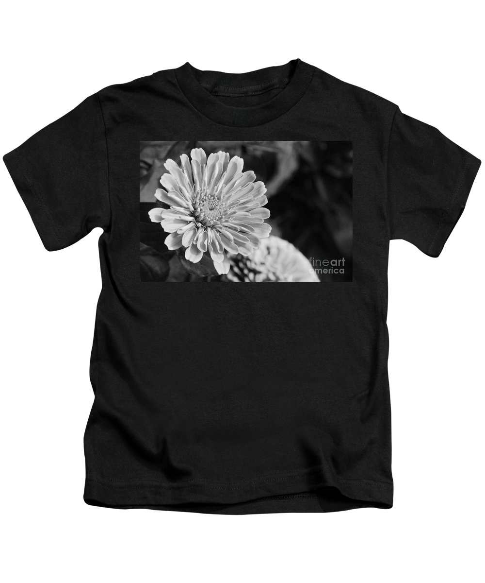 Flower Kids T-Shirt featuring the photograph Red Or Yellow Or Black Or White by Cindy Manero