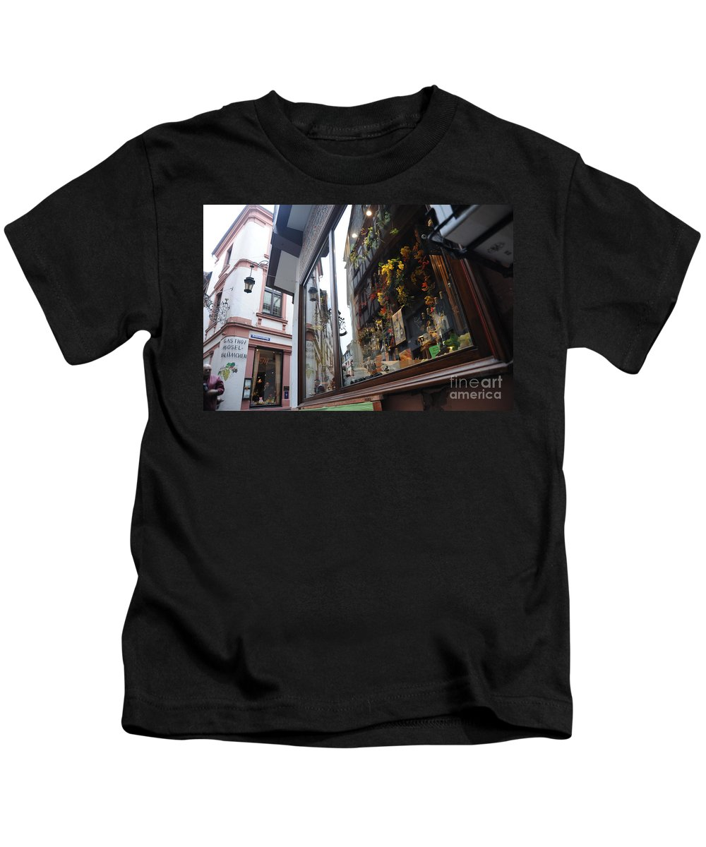 Germany Kids T-Shirt featuring the photograph Reflections by Richard Gehlbach