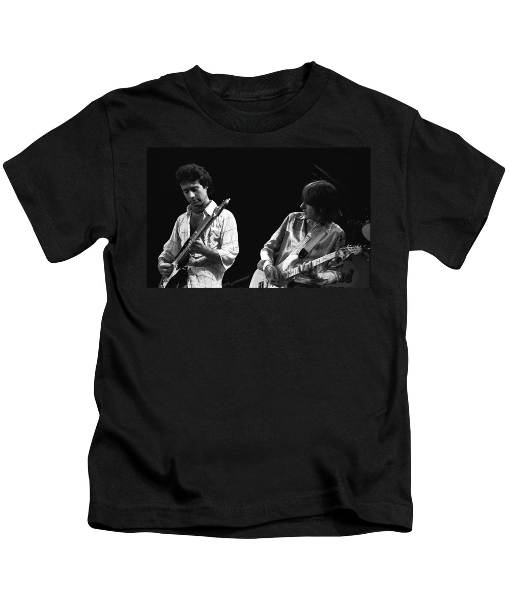 Paul Rodgers Kids T-Shirt featuring the photograph Rock And Roll Fantasy by Ben Upham