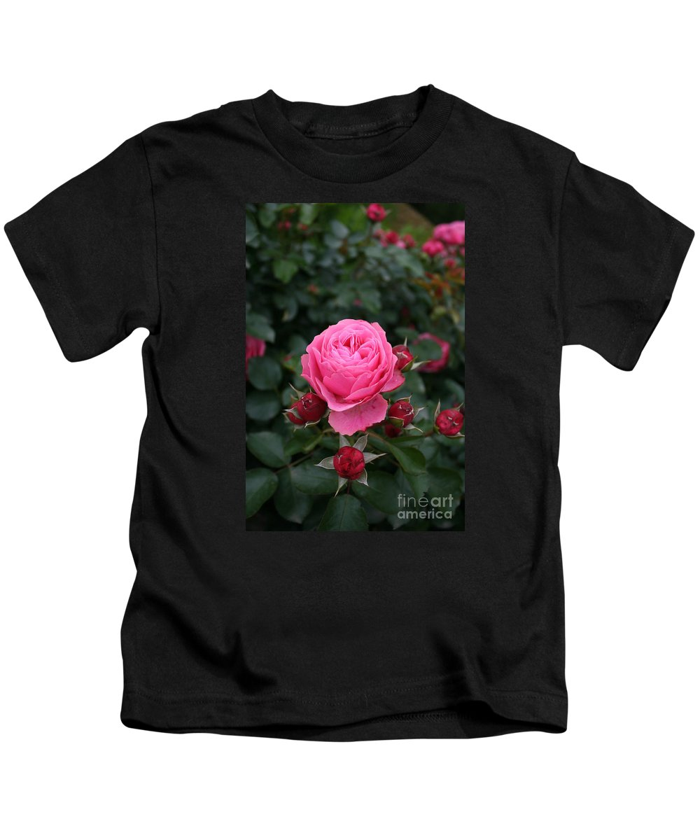 Rose Kids T-Shirt featuring the photograph Rose Love by Christiane Schulze Art And Photography