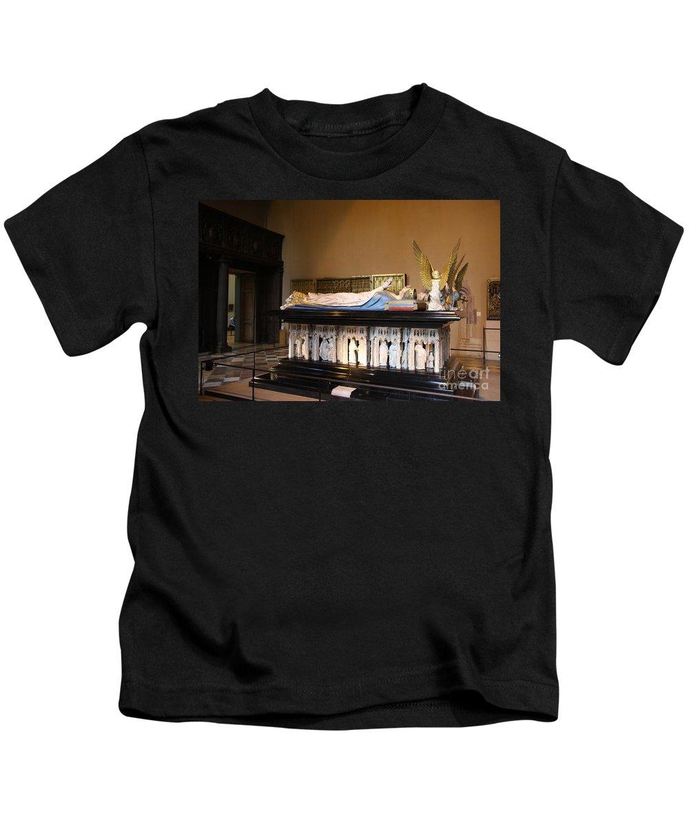 Museum Kids T-Shirt featuring the photograph Salle De Gardes - Palace Dijon by Christiane Schulze Art And Photography
