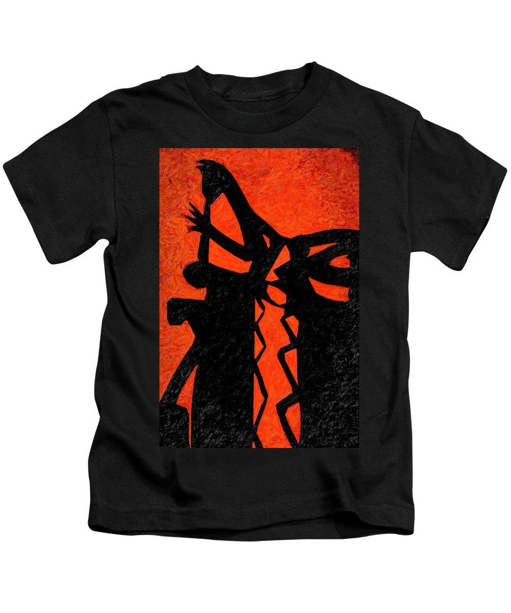 Sun Kids T-Shirt featuring the photograph Santa Fe Sunrise by Terry Fiala