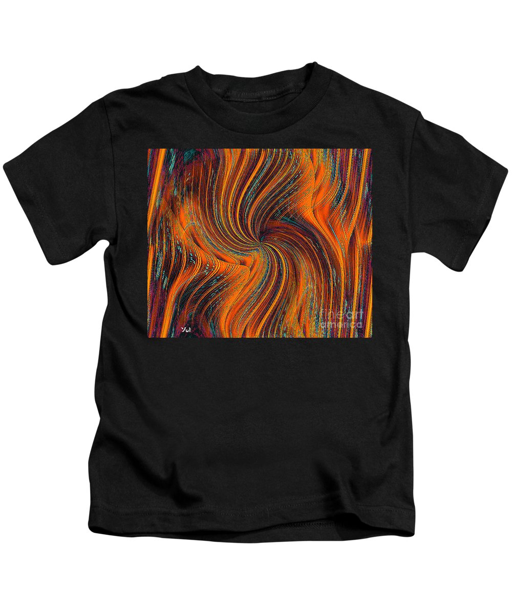 Schiller Kids T-Shirt featuring the painting Schiller's Dream Of You by Yul Olaivar