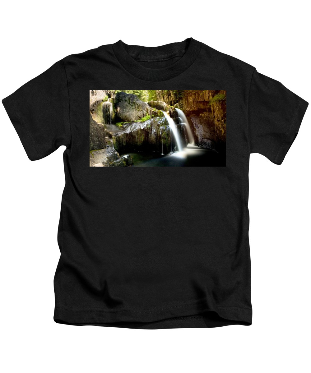 Screw Auger Kids T-Shirt featuring the photograph Screw Auger Falls 5281 by Brent L Ander