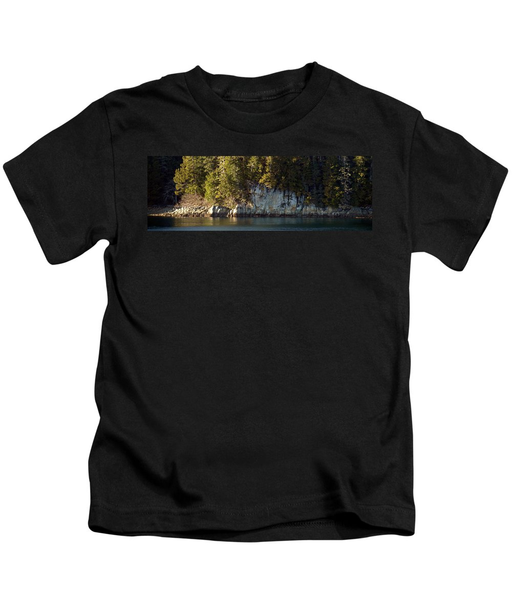Forest Kids T-Shirt featuring the photograph Seaside Cliffs by Jessica Foster