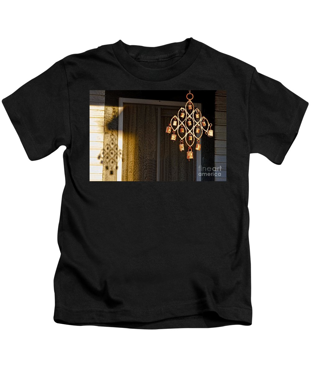 Shadows Of Simple Beauty Kids T-Shirt featuring the photograph Shadows Of Simple Beauty- 1 by Gary Holmes