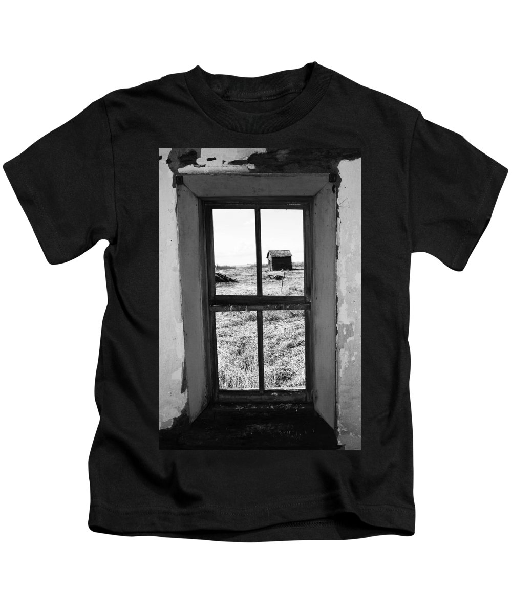 Barn Kids T-Shirt featuring the photograph Shed Some Light by The Artist Project