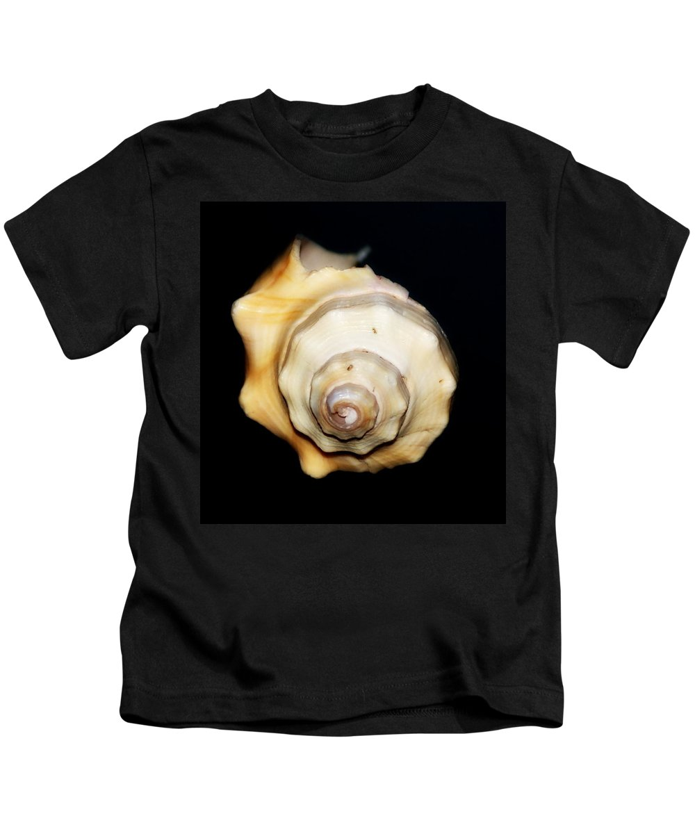 Photo Kids T-Shirt featuring the photograph Shell Solo II by Laurie Pike