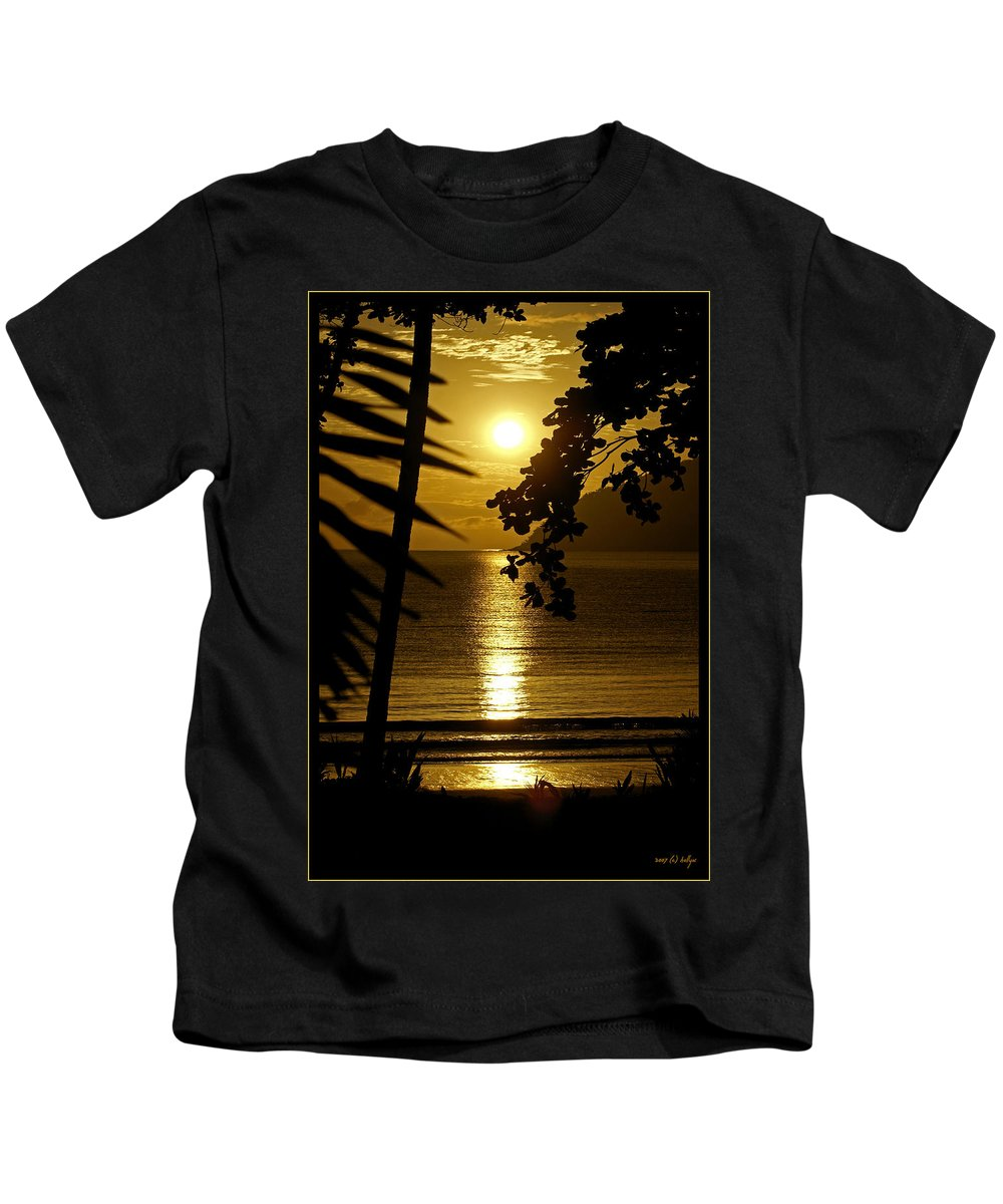 Landscapes Kids T-Shirt featuring the photograph Shimmer by Holly Kempe