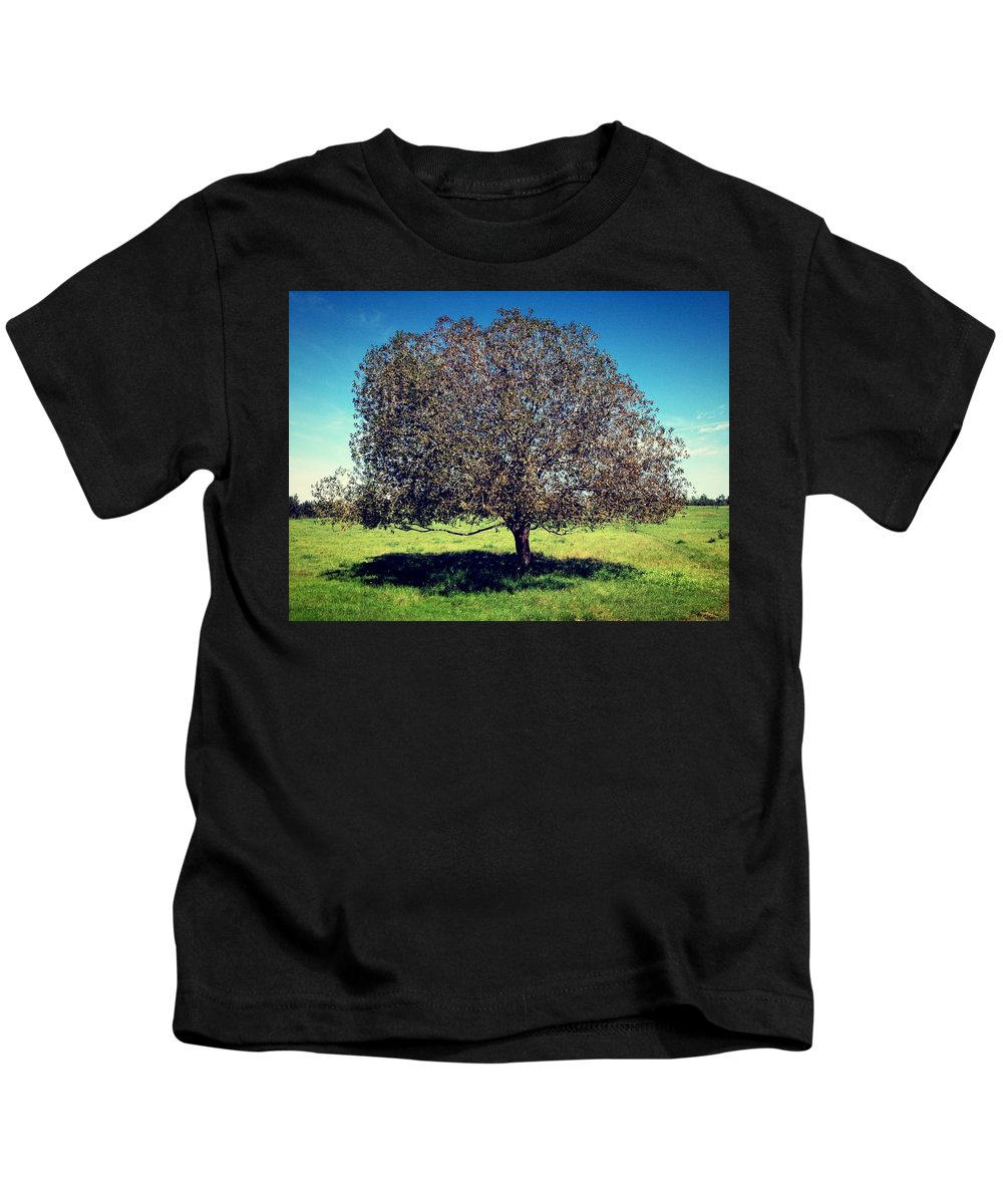 Tree Kids T-Shirt featuring the photograph Sleeping Tree by The Artist Project