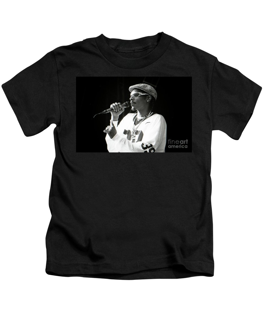 Snoop Kids T-Shirt featuring the photograph Snoop-gp18 by Timothy Bischoff