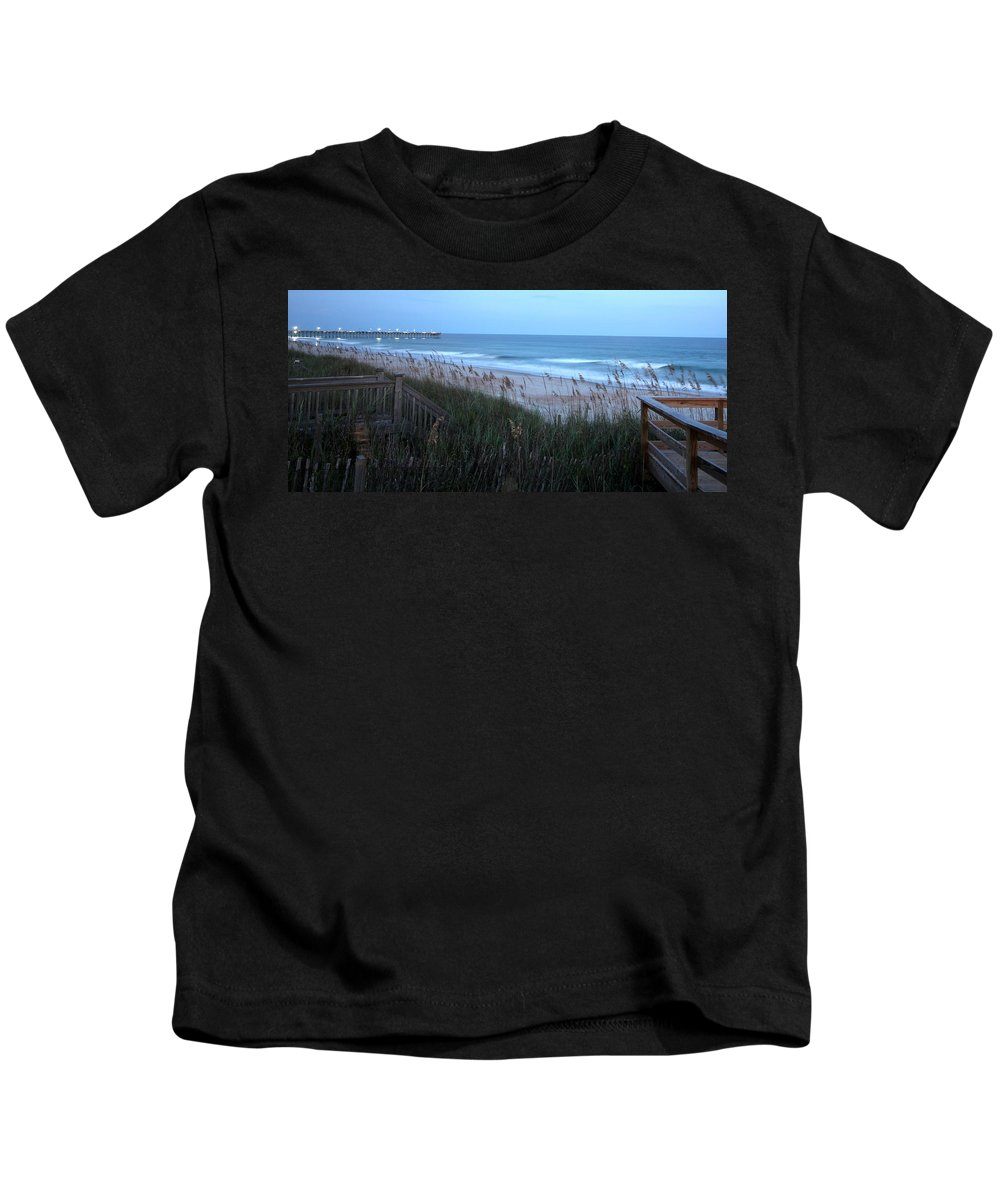 Kids T-Shirt featuring the photograph Soft Ocean by Rand Wall