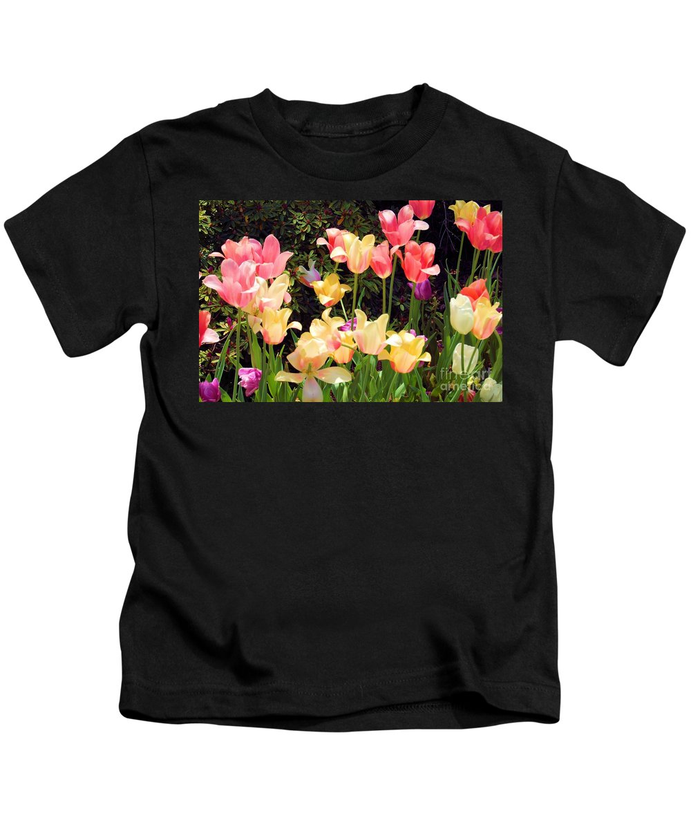 Fine Art Photography Kids T-Shirt featuring the photograph Soft Spring Colors by Nicholas Costanzo