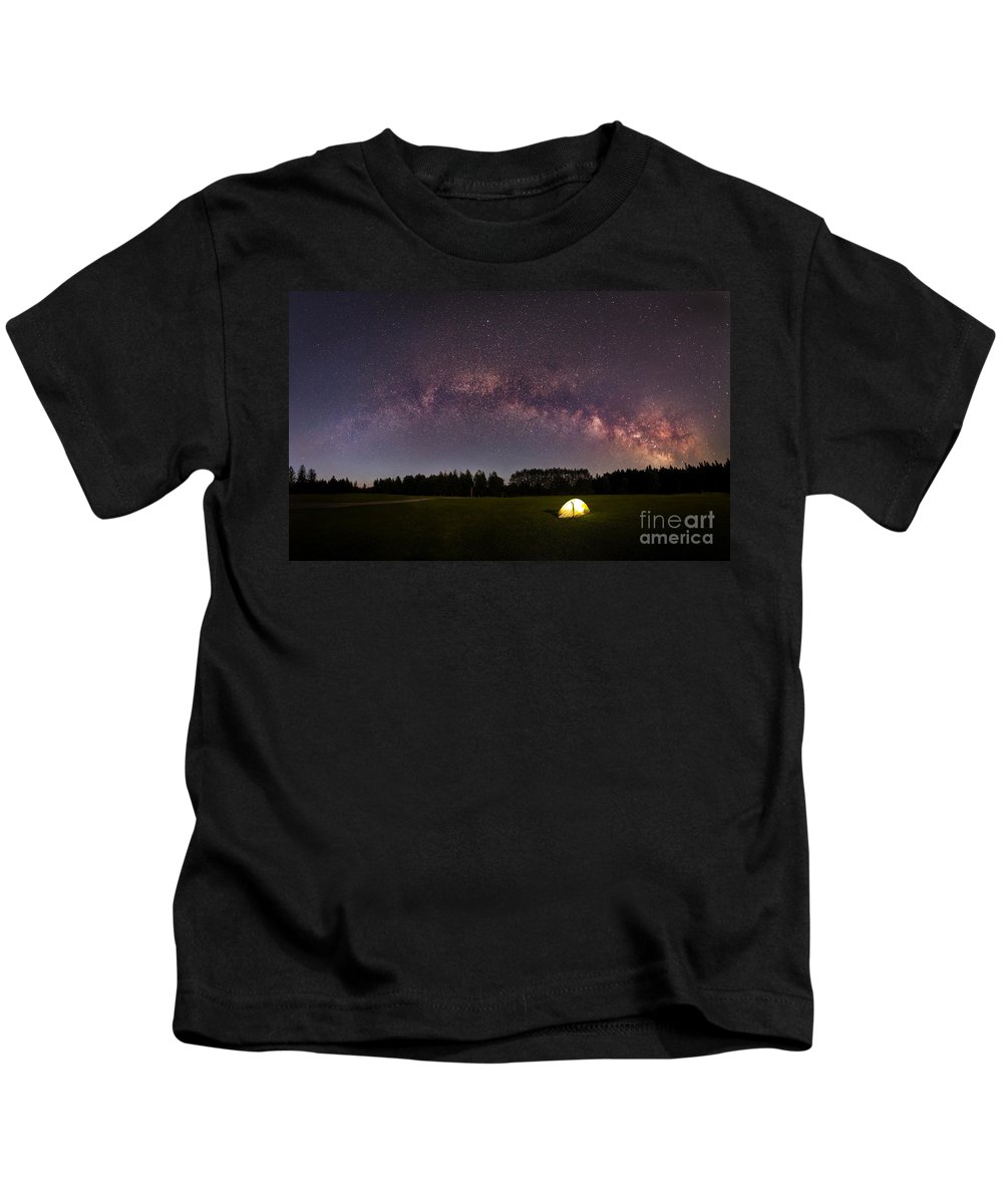 Solitude Kids T-Shirt featuring the photograph Solitude by Michael Ver Sprill