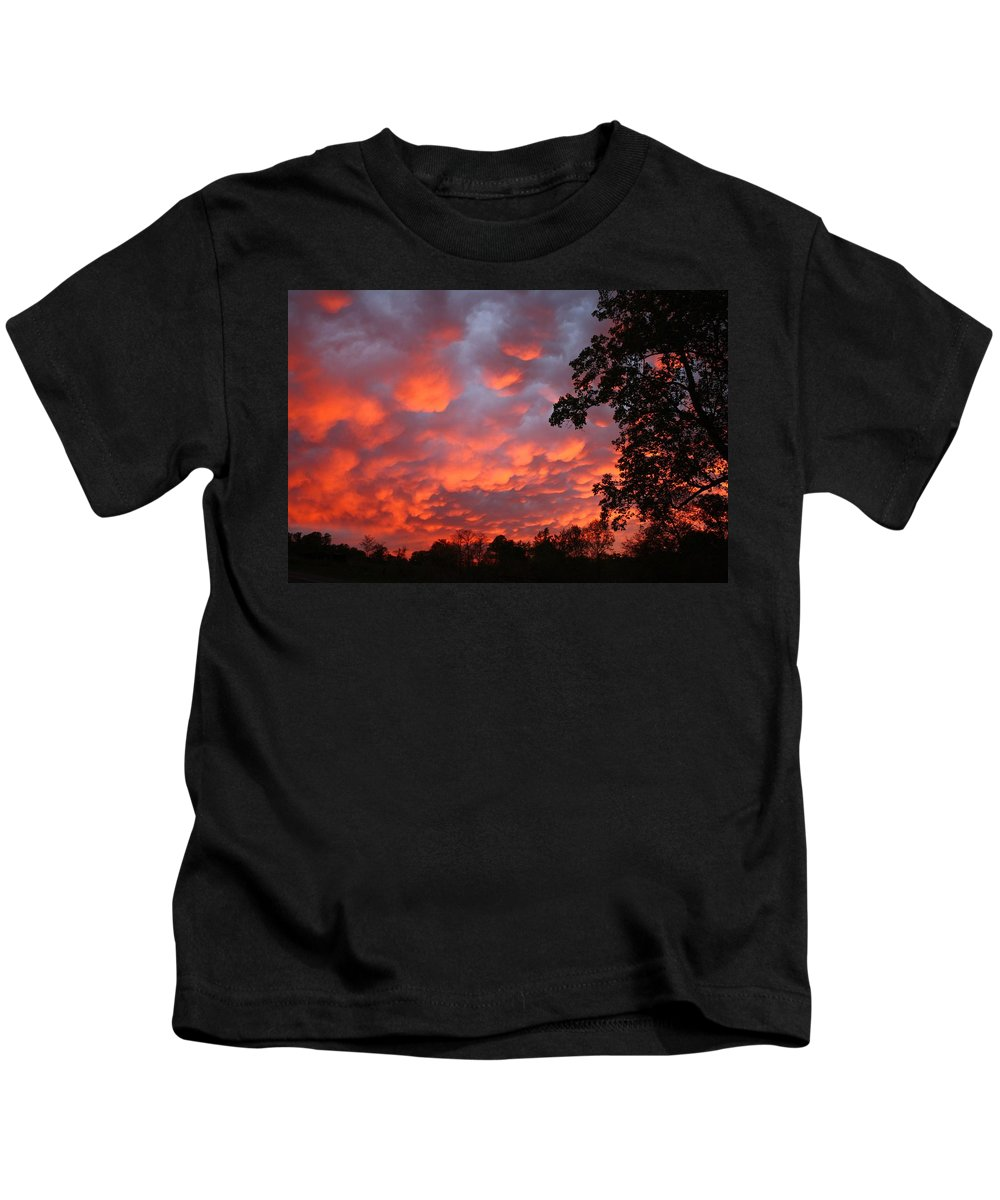 Sunrise Kids T-Shirt featuring the photograph Sonrise Easter Morning by Kathryn Meyer