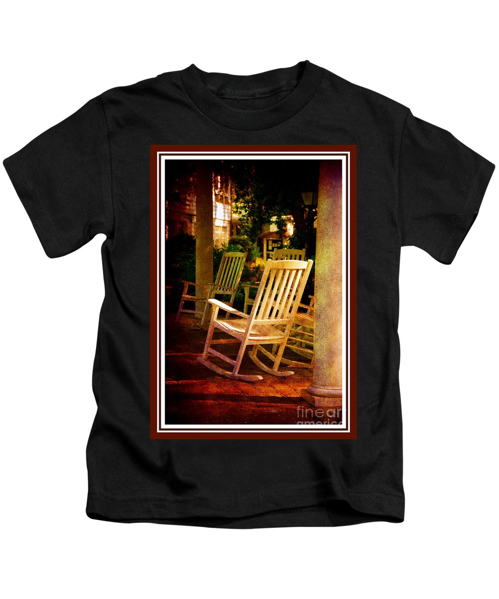 Southern Sunday Afternoon Kids T-Shirt featuring the photograph Southern Sunday Afternoon by Susanne Van Hulst
