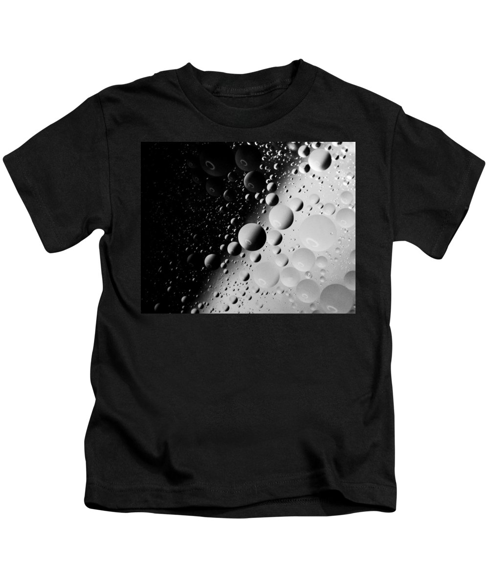Water Kids T-Shirt featuring the photograph Space World by Anita Braconnier