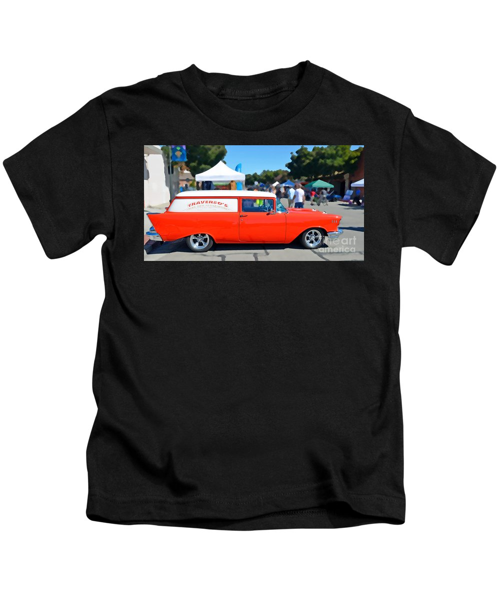 David Lawson Photography Kids T-Shirt featuring the photograph Special Delivery by David Lawson
