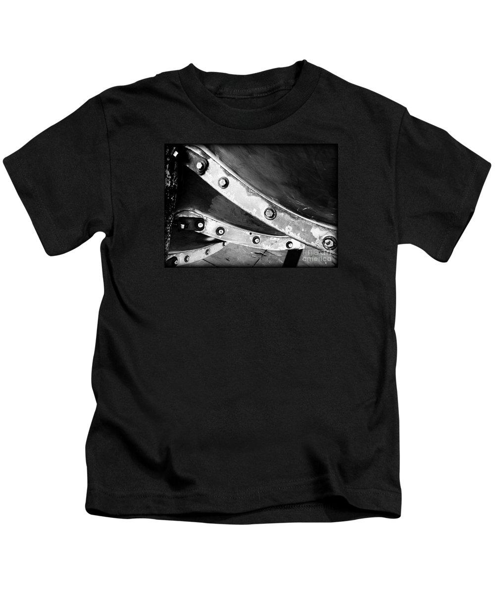 Spiral Kids T-Shirt featuring the photograph Spiral Slide A by James Aiken