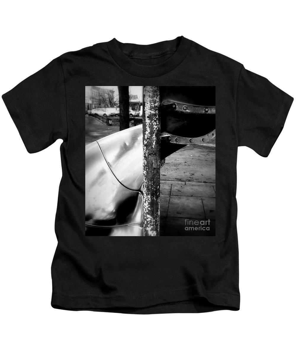 Spiral Kids T-Shirt featuring the photograph Spiral Slide C by James Aiken