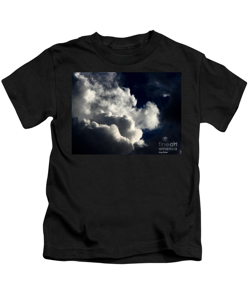 Art For The Wall...patzer Photography Kids T-Shirt featuring the photograph Spiritual by Greg Patzer