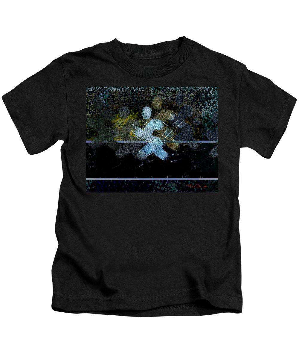 Theo Danella Kids T-Shirt featuring the digital art Sport B 10 by Theo Danella