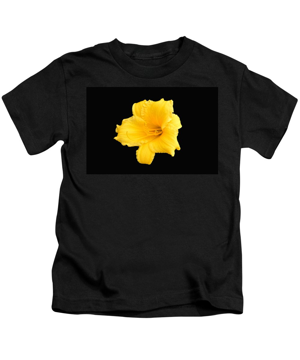 Lily Kids T-Shirt featuring the photograph Starship Lily by William Jobes